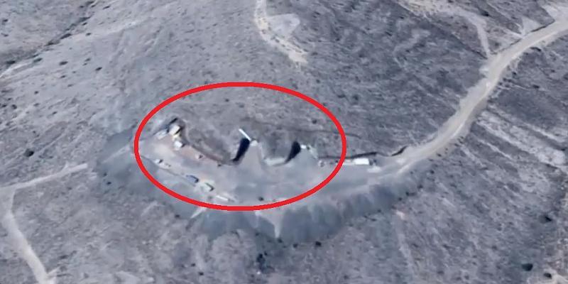 UFO-Forscher behauptet: Google Earth zeigt geheime Hangars in Area 51