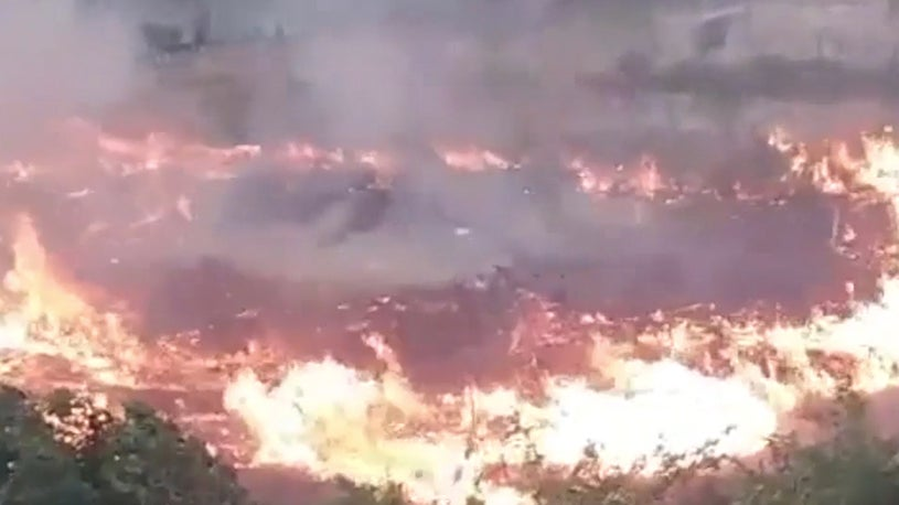 See How Fast a Wildfire Can Grow