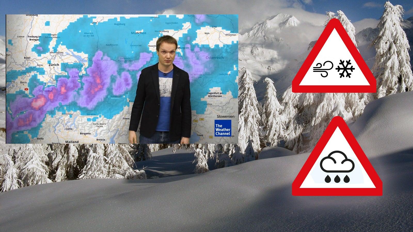 Sturm, Hochwasser, Schnee: Wo es jetzt besonders gefährlich wird