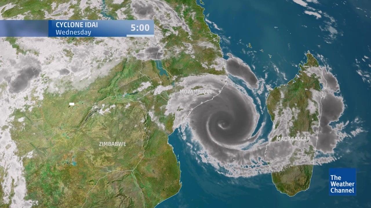 Mit Zyklon Idai bahnt sich in Ostafrika eine Katastrophe an