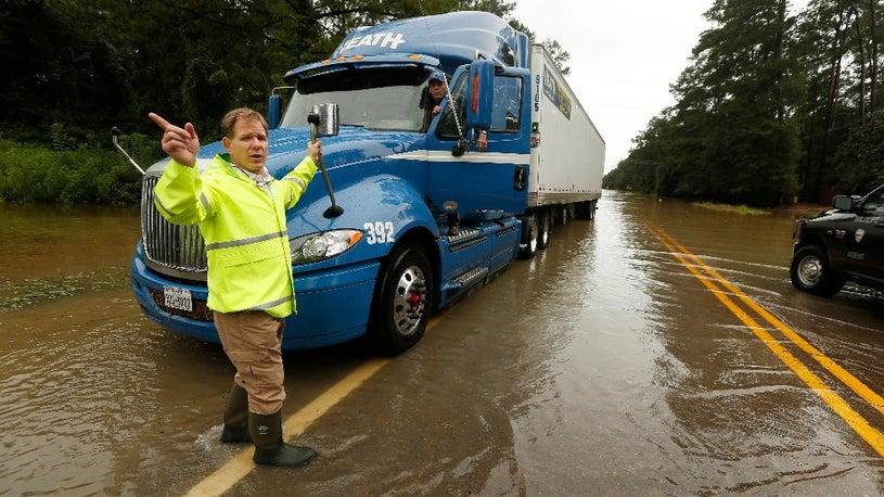 Over 2.5 Feet of Rain in Louisiana Flooding