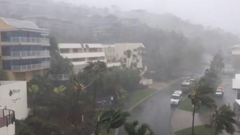 N.E. Australia Slammed by Tropical Cyclone Debbie