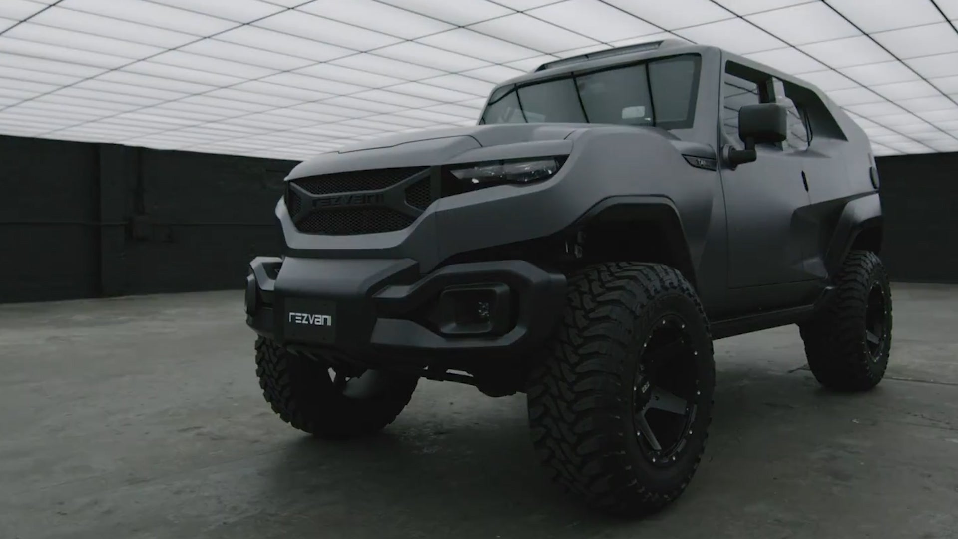 rezvani designed new tactical urban vehicle