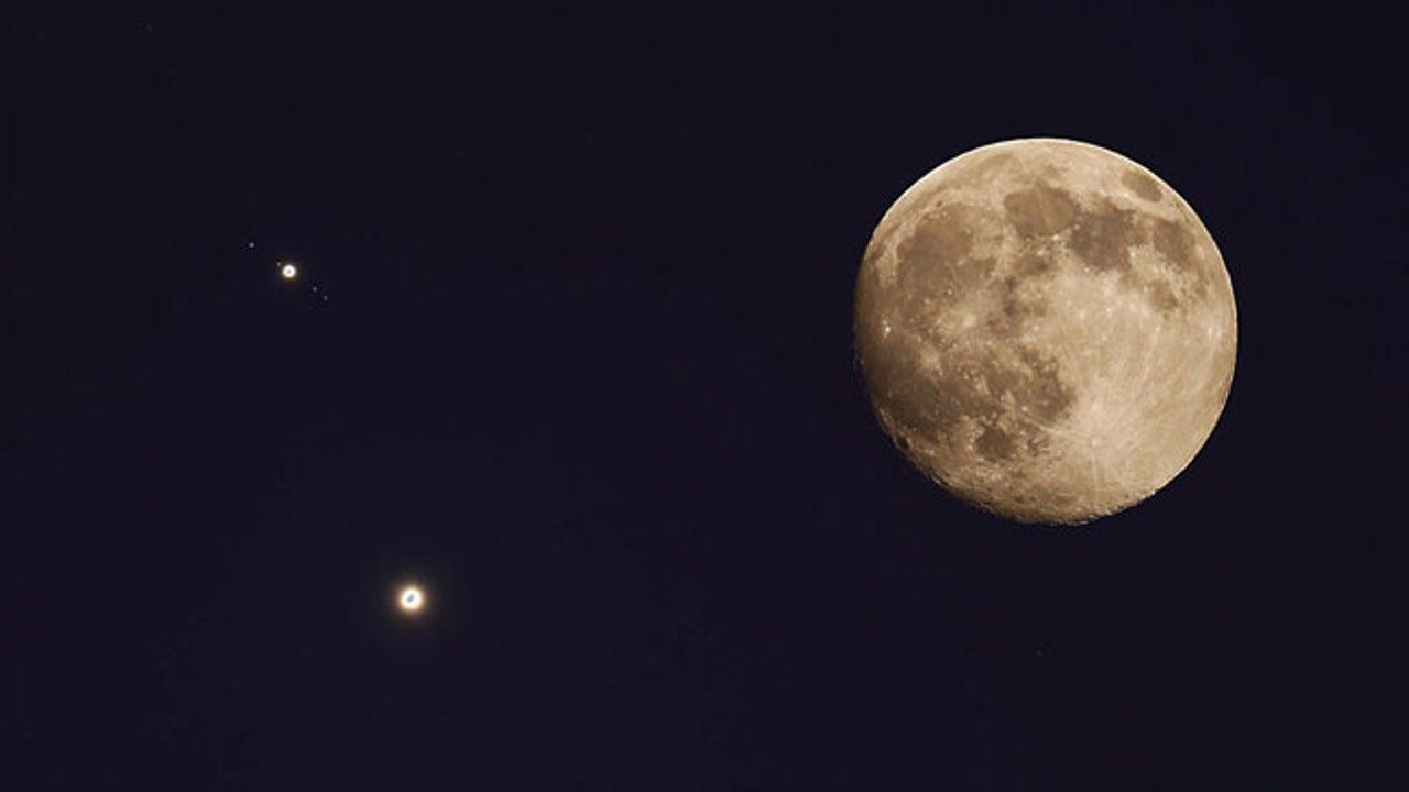 Venus-Jupiter Conjunction 2017