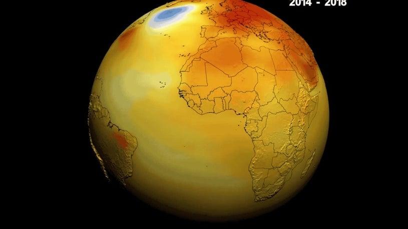 Erde im Hitzestress: Die wärmsten Jahre seit Aufzeichnung