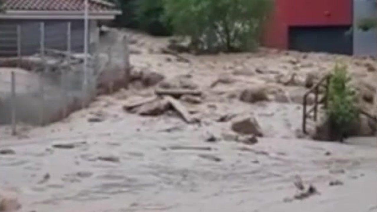 Heavy Rain Causes Mudslides in Austrian Village