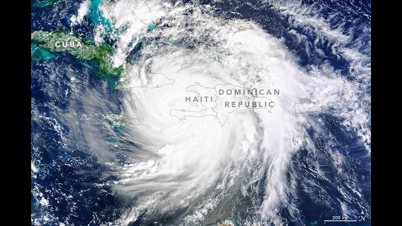 Wegen Matthew: 1,1 Millionen Menschen sind in Gefahr