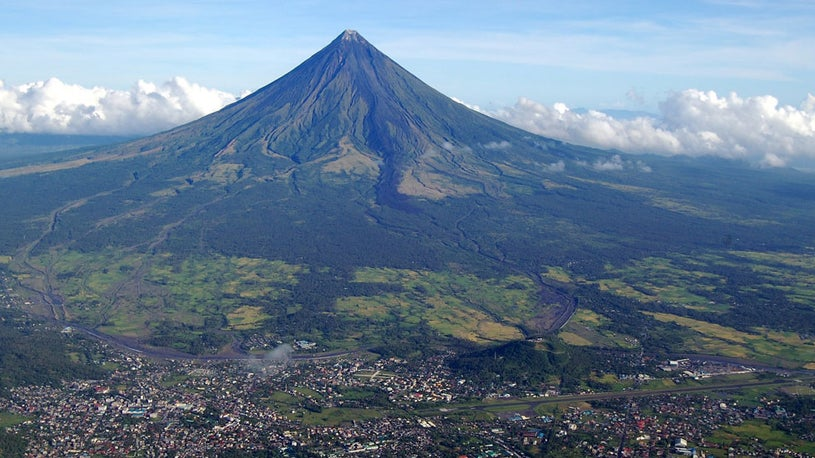 New Lava Flows at Philippines Volcano