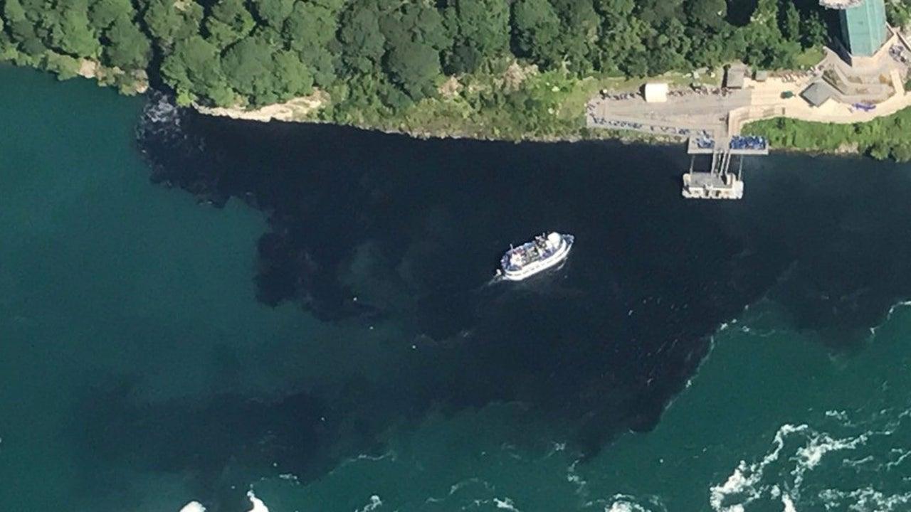 Niagara-Fälle: Warum das Wasser plötzlich schwarz wird