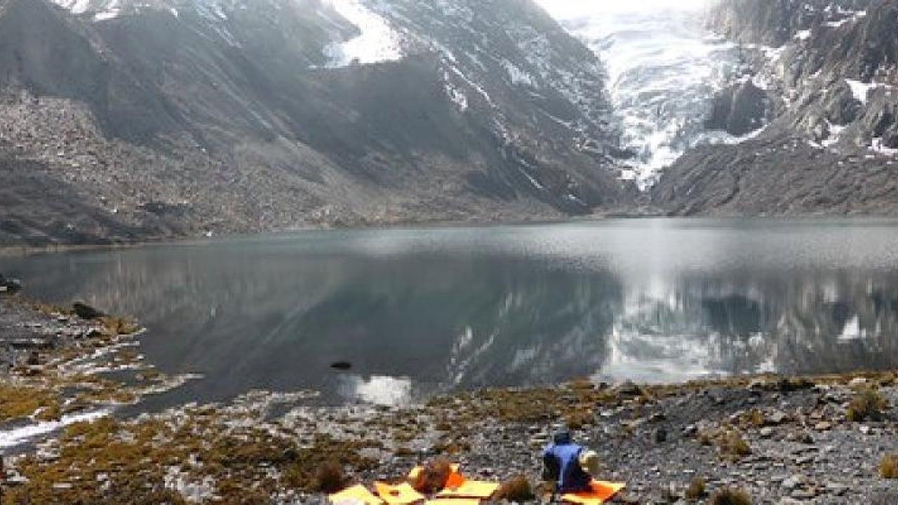 Dieser Gletschersee birgt eine große Gefahr