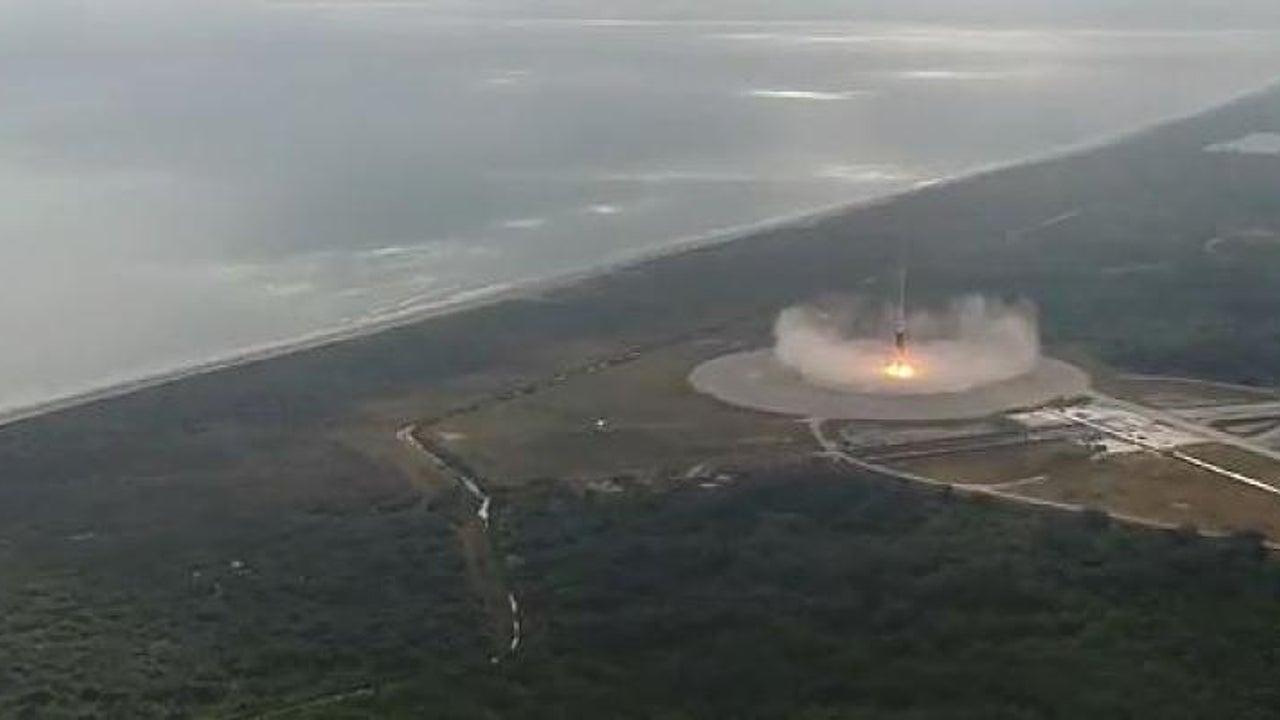 SpaceX-Rakete landet wieder in Cape Canaveral