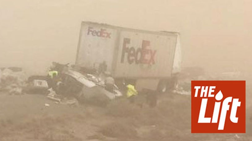 Dust Storm Closes Arizona Road