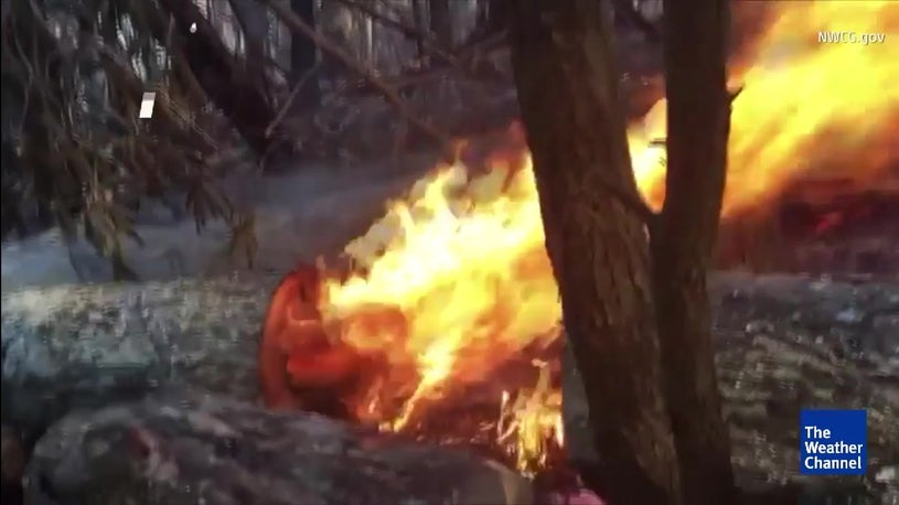 Crews Battle Wildfires in Southeast Drought