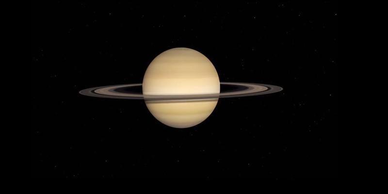Theorie der Nasa: Saturn verliert seine Ringe - die regnen auf den Planeten hinab