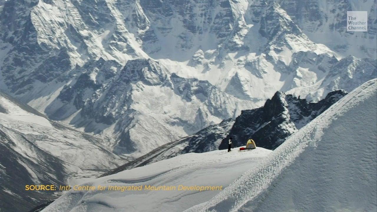 Calentamiento global pone en peligro a los Himalayas