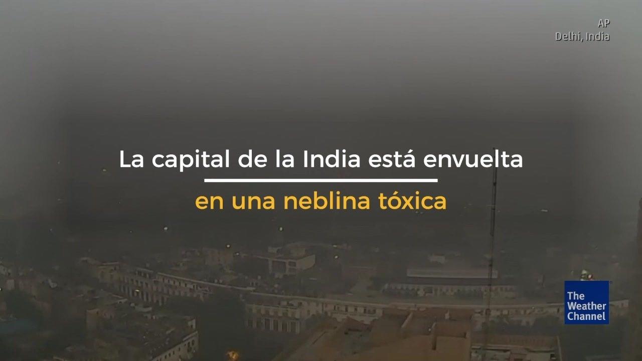 Contaminación del aire en India