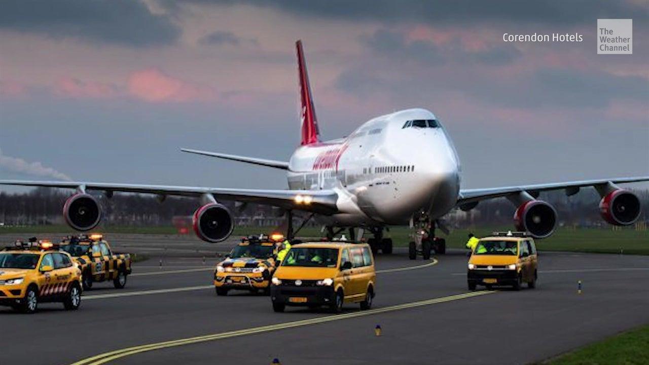 Boeing 747-400 retirado se vuelve hotel