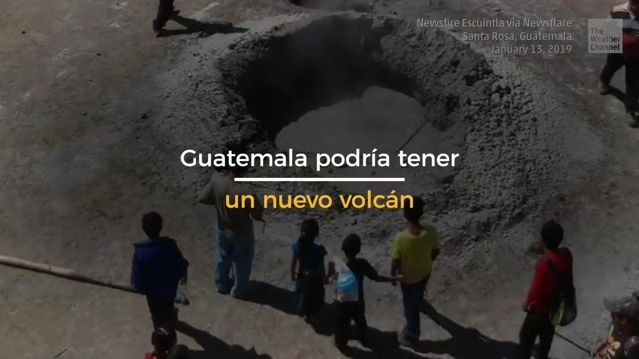 ¿Guatemala tiene un nuevo volcán?