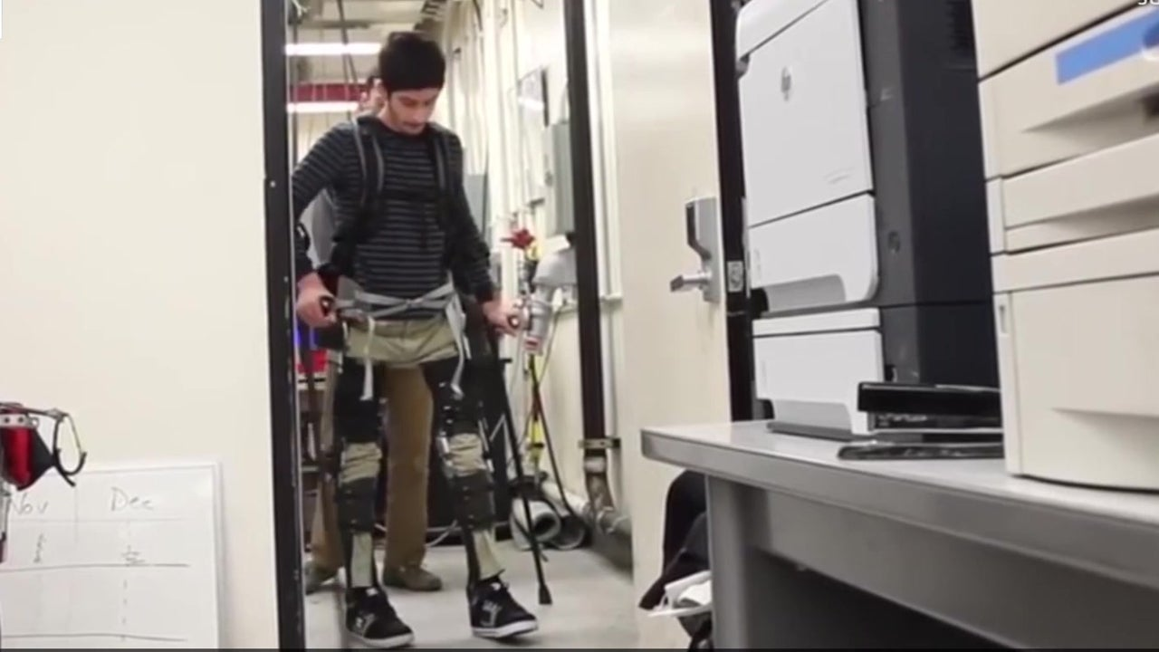 Exoskeleton Allows Mobility and Extra Strength