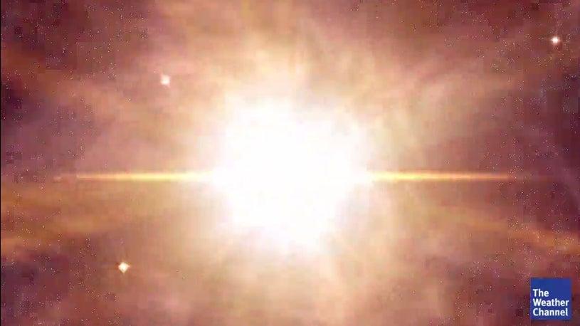 Nasa filmt einzigartige Sternenexplosion