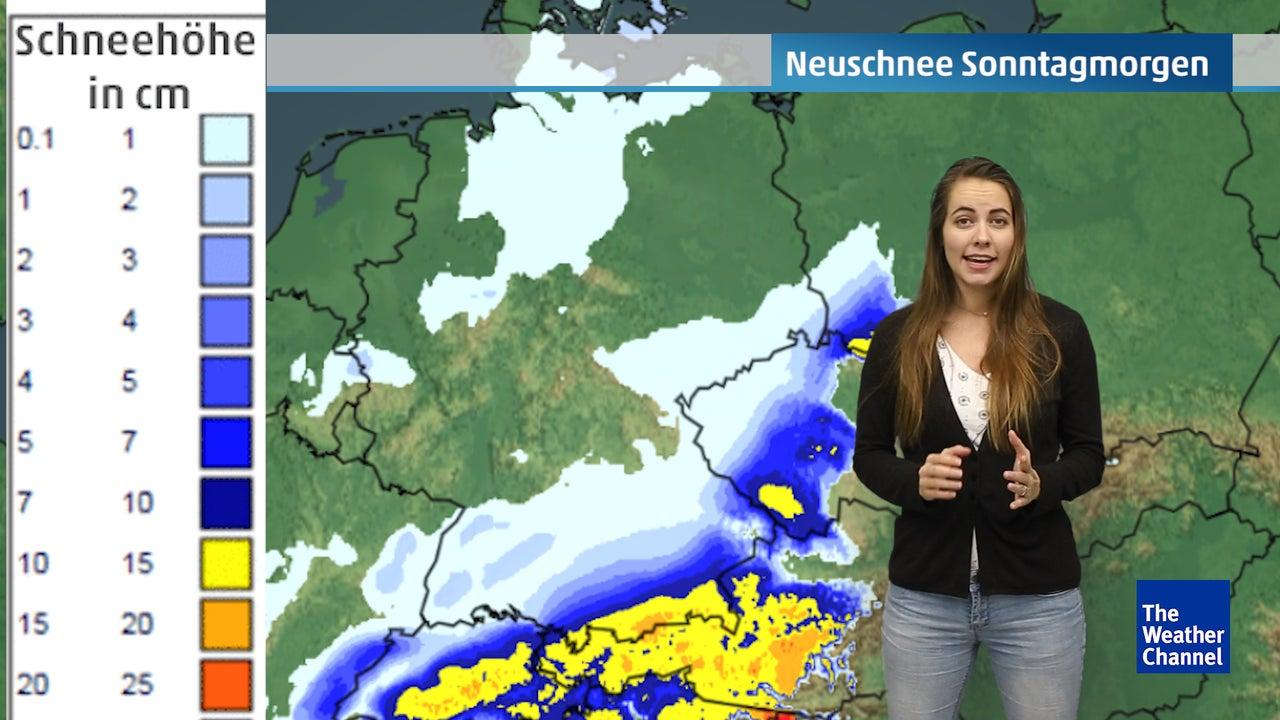 Samstag droht Glatteis – dann kommt neuer Schnee nach Deutschland