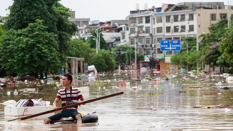 Death Toll Rises in Chinese Floods
