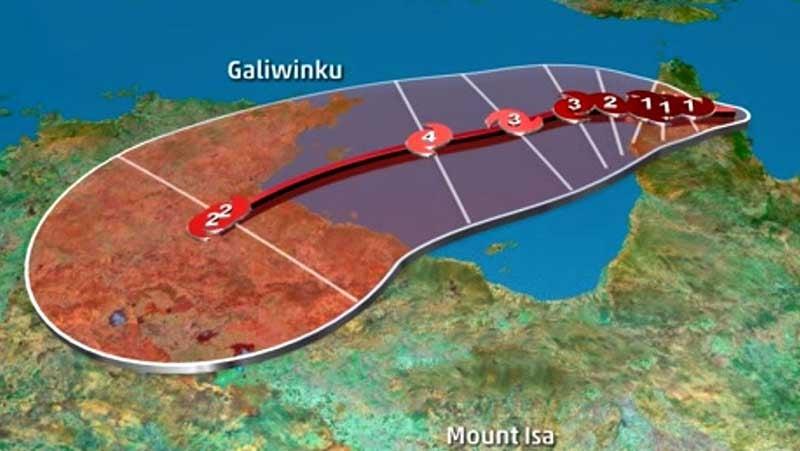 Lebensbedrohlicher Zyklon erreicht Australien