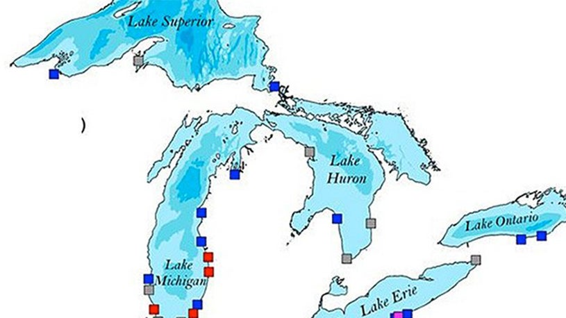 One Possible Dangerous Hazard for the Great Lakes, a Meteotsunami