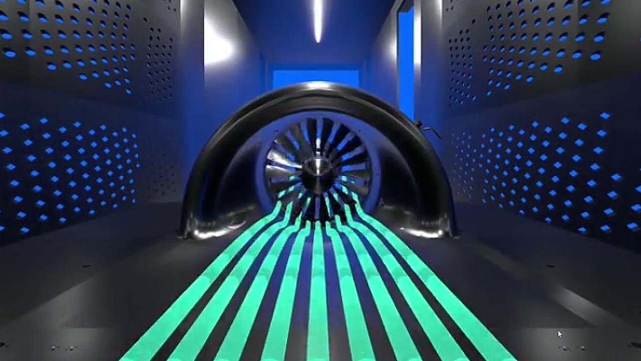 Nasa entwickelt sparsames Strahl-Triebwerk