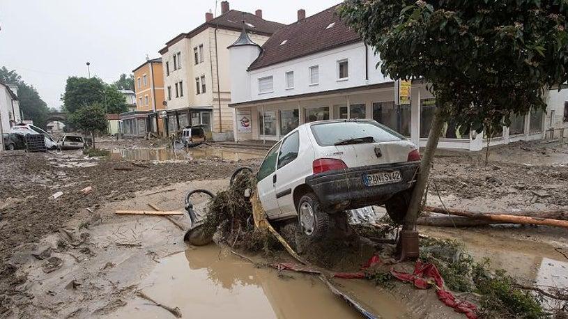 Simbach am Inn: Verstopftes Rohr löste offenbar Flutwelle aus
