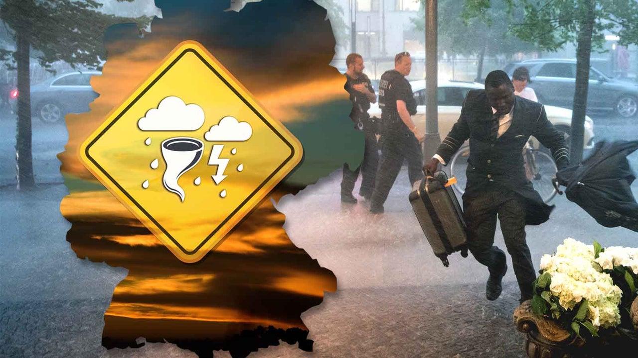 Sonntag: Sturmtief Uwe bringt außer Wind massive Regenfälle