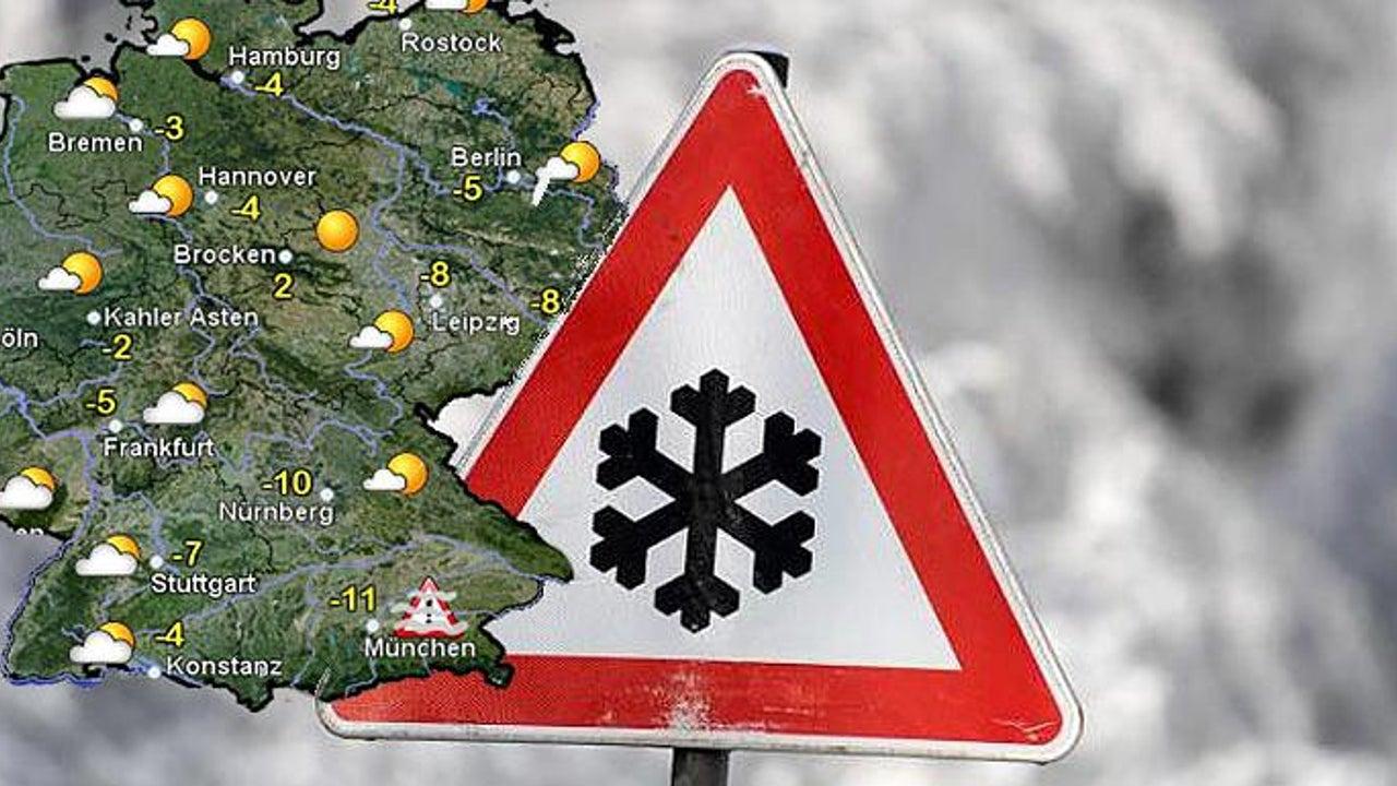 Kältewarnung für Süddeutschland: Frostige -13 Grad! Doch in einigen Regionen kündigt sich bald der Frühling an