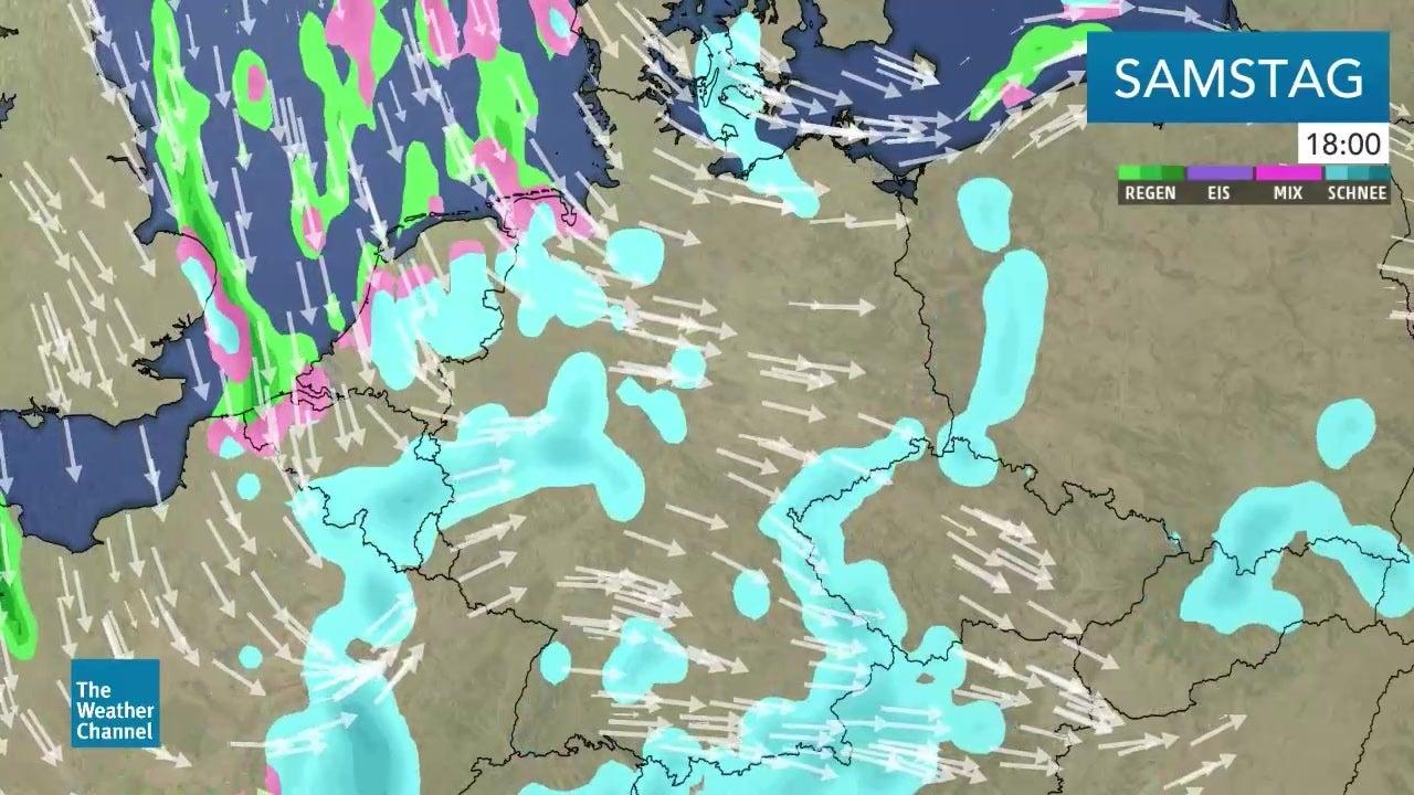 Schnee und Sonne: Das Wetter beruhigt sich - vorerst