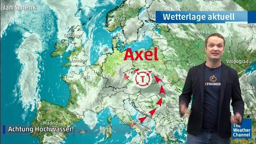 Wetter Heute Tief Axel Bringt Sintflutartigen Regen