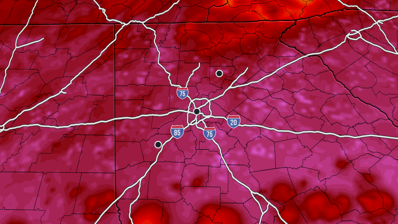 Atlanta Forecast September 9 AM | The Weather Channel