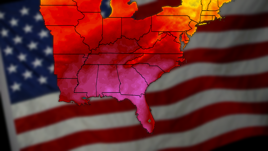 Southeast: Get Ready for a Hot Memorial Day Weekend