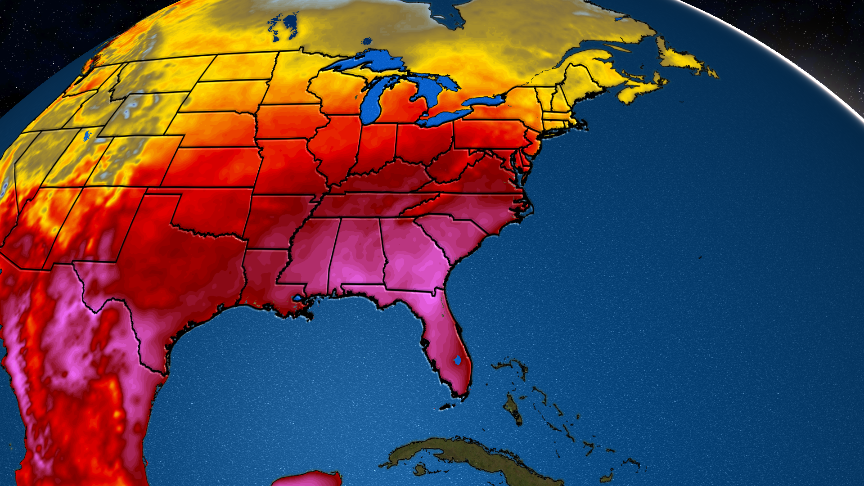 Southeast Heatwave Coming Just in Time for Memorial Day