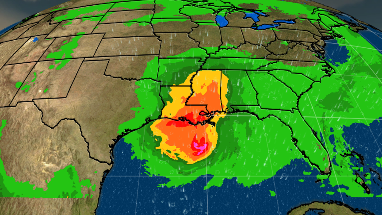 Updated Forecast: Barry Bearing Down on Louisiana
