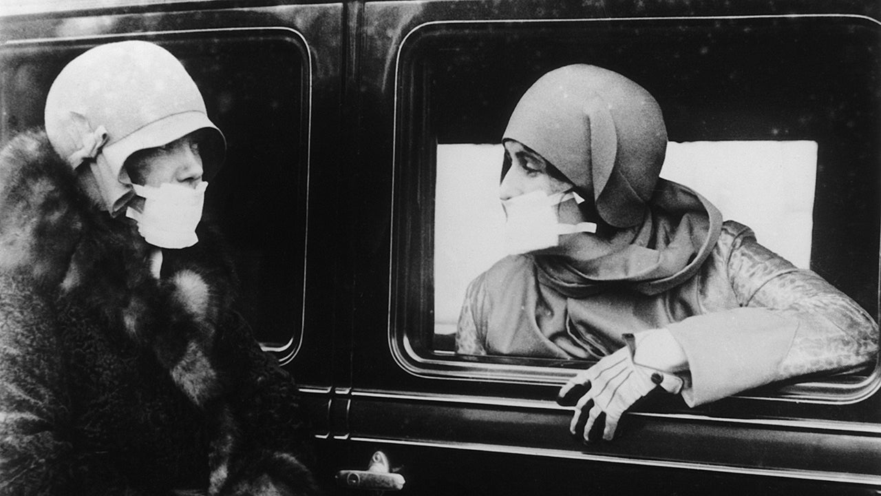 Eerie Photos of History's Deadliest Pandemic