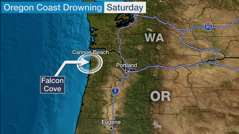 Father and Two Children Swept to Sea by Oregon Wave