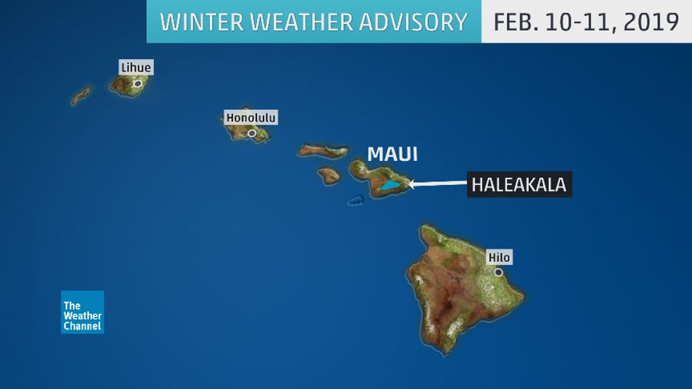 Hawaii Storm Might Have Set The State S All Time Record Low Snow