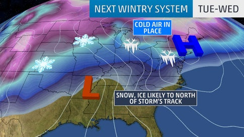 Winter Storm Petra to Bring Snow and Ice to the West, Midwest and ...