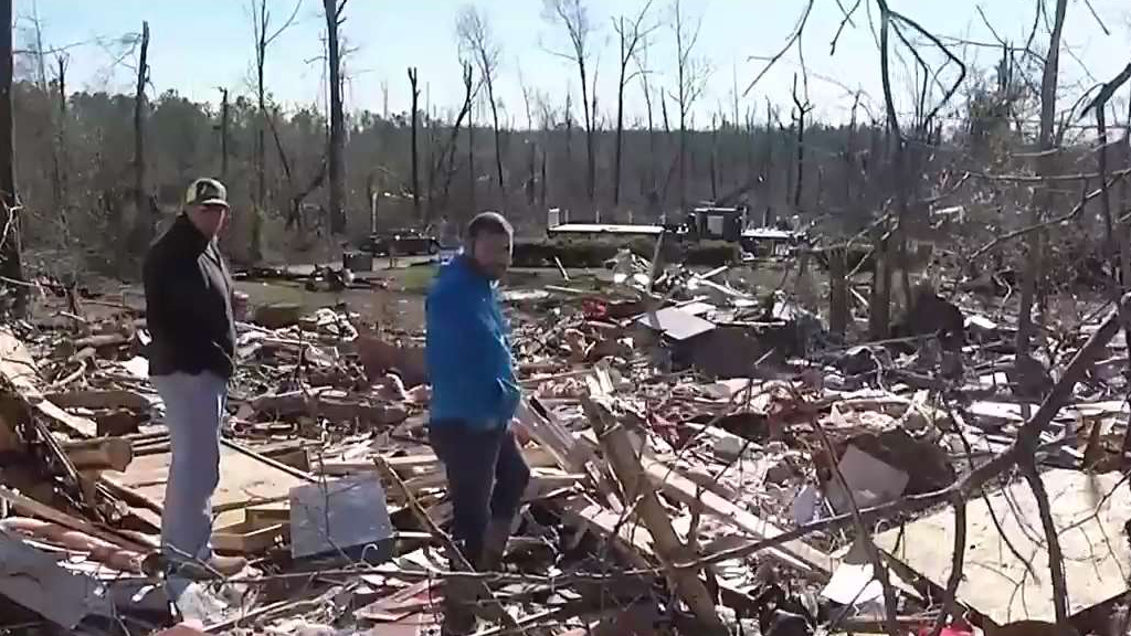 Tornado Victims Face Their Losses