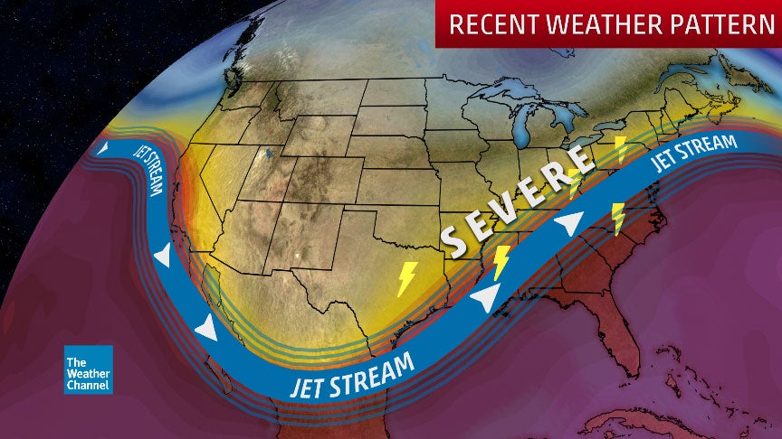 After Recent Severe Weather Outbreaks, Expect a Quieter Pattern Next Week