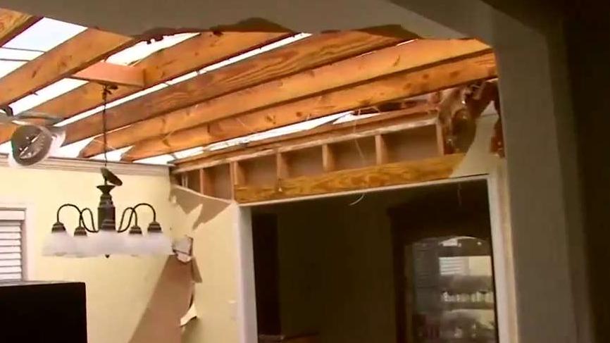 Inside a Tornado Damaged Home in Hamilton, Mississippi