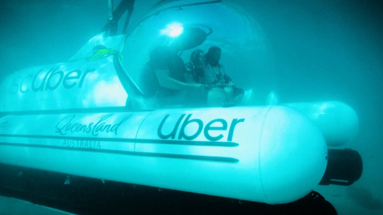 Queensland and Uber Launch First-Ever Submarine Rideshare Service