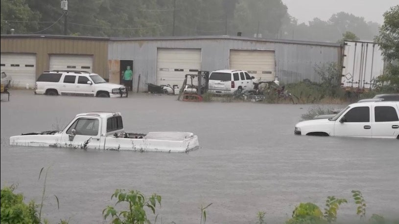 South Soaked, Flash Flood Emergency in Mississippi, Arkansas