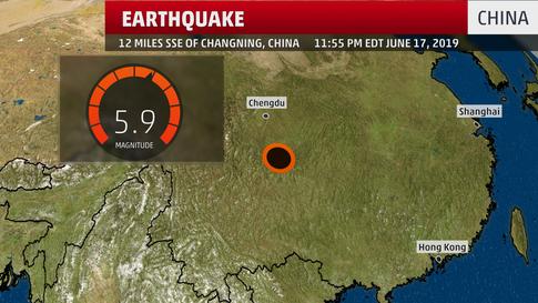 5.9 Magnitude Earthquake Shakes Southern China; Damage Reported