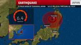 6.4 Magnitude Earthquake Strikes Northwest Japan