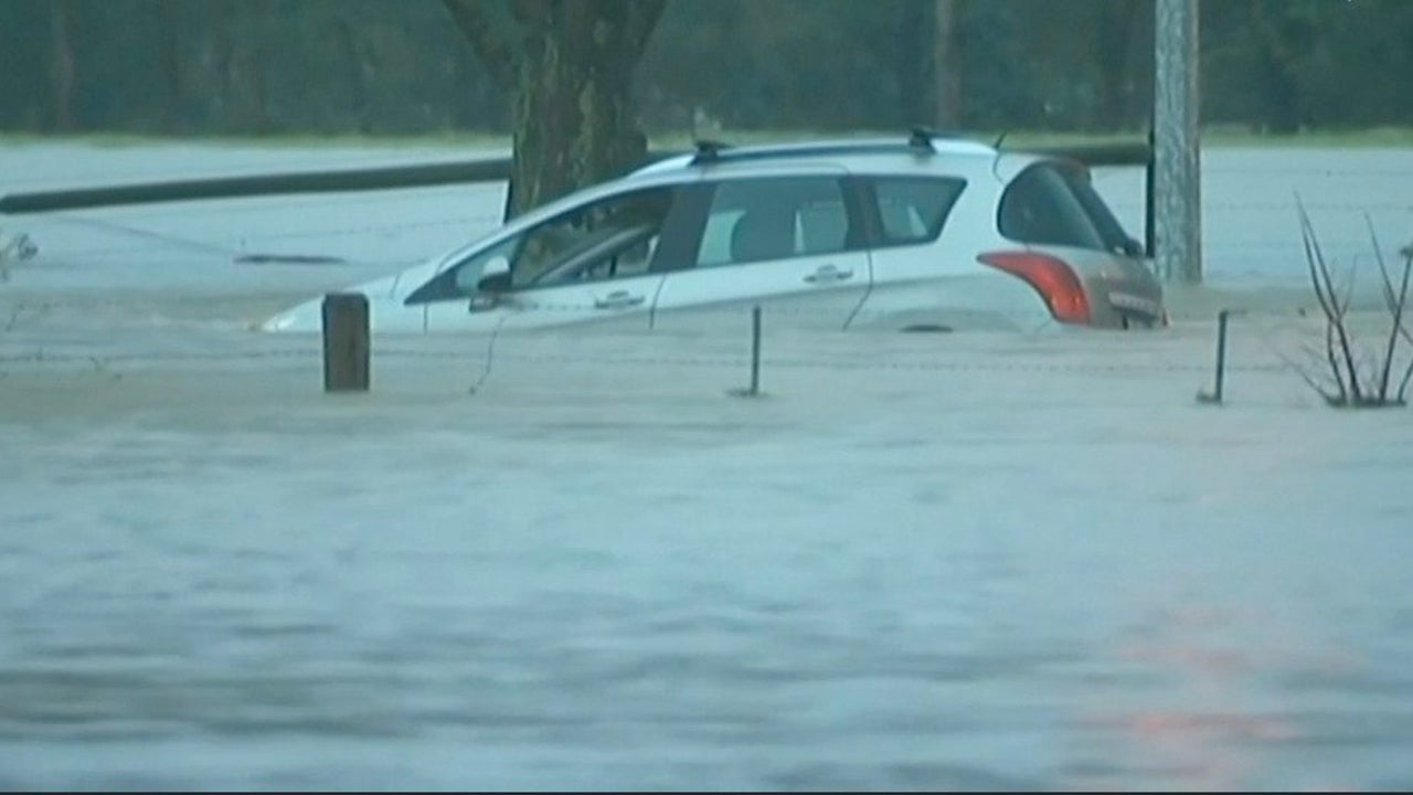 Victoria, Australia Hit By Torrential Flash Flooding